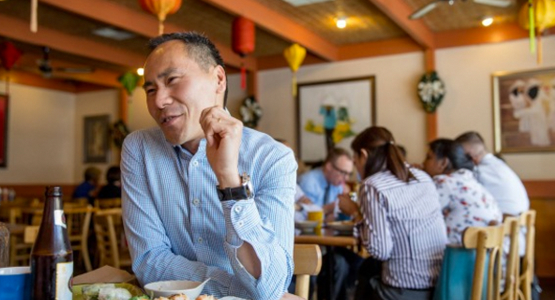 Successful investor Huy Truong launches financial plan so other refugees thrive