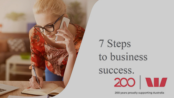 7 steps to business success
