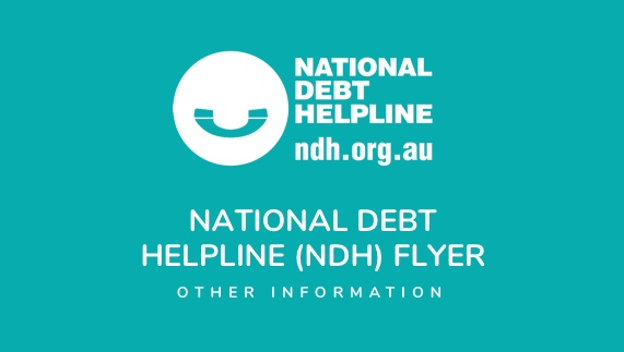 National Debt Helpline (NDH) Flyer